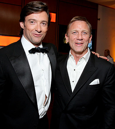 VIDEO: Hugh Jackman and Daniel Craig Phone It In