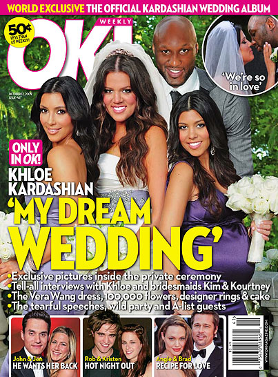 Khloe Kardashian and Lamar Odom's Wedding Cover-Up