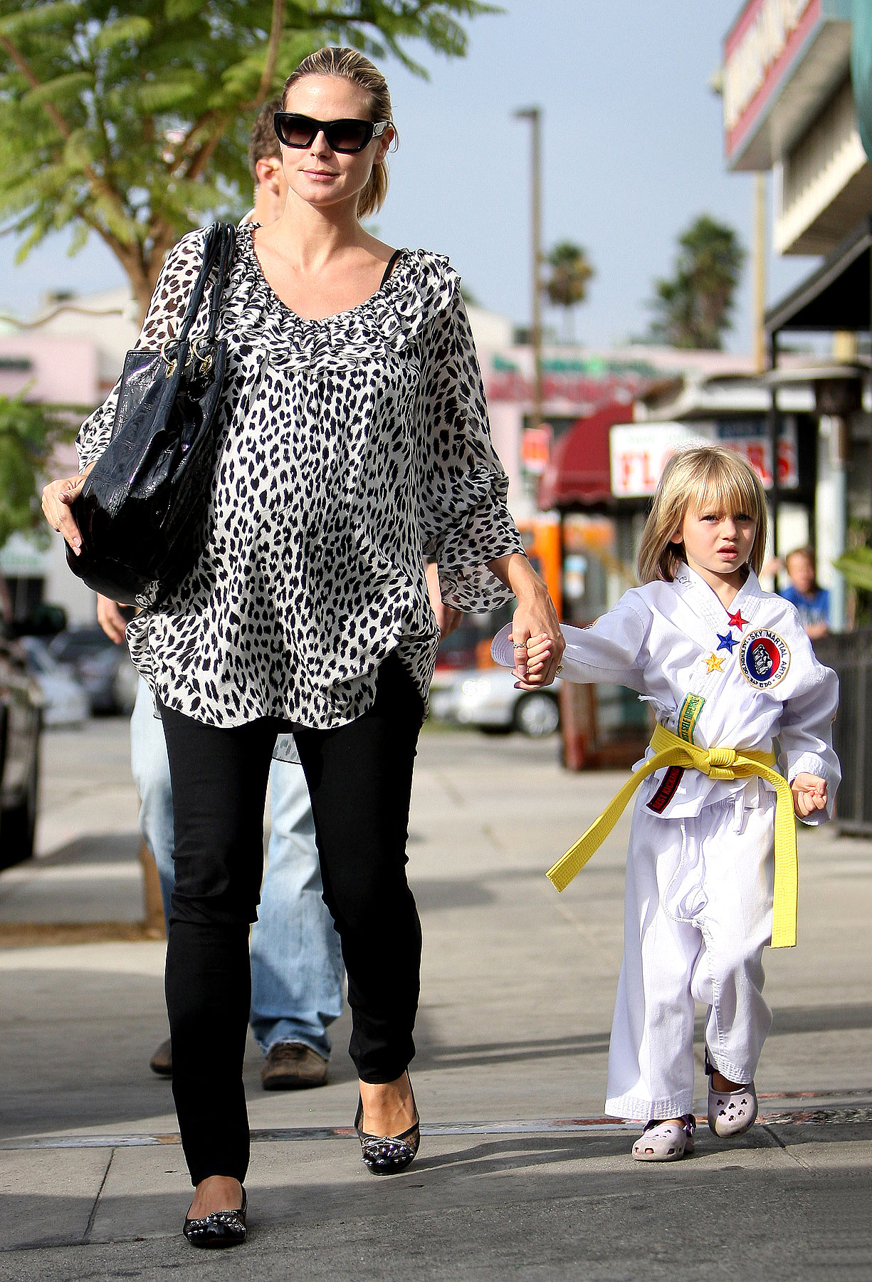 PHOTO GALLERY: Heidi Klum's Karate Kids