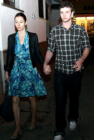 Justin Timberlake and Jessica Biel Don't Look Too Broken Up
