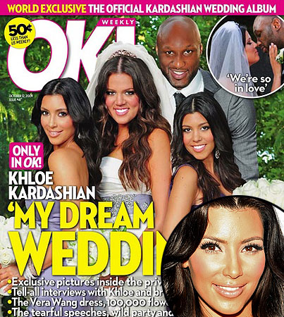 Kim Kardashian Talks About Khloe's Wedding