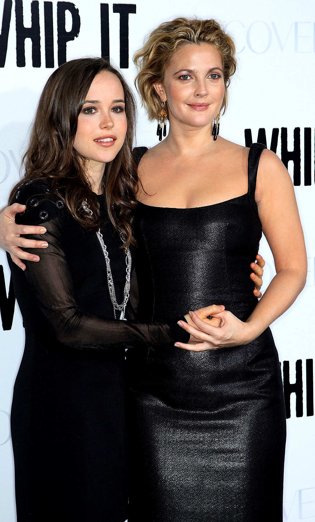 PHOTO GALLERY: Drew Barrymore and Ellen Page Whip It Good at L.A. Premiere