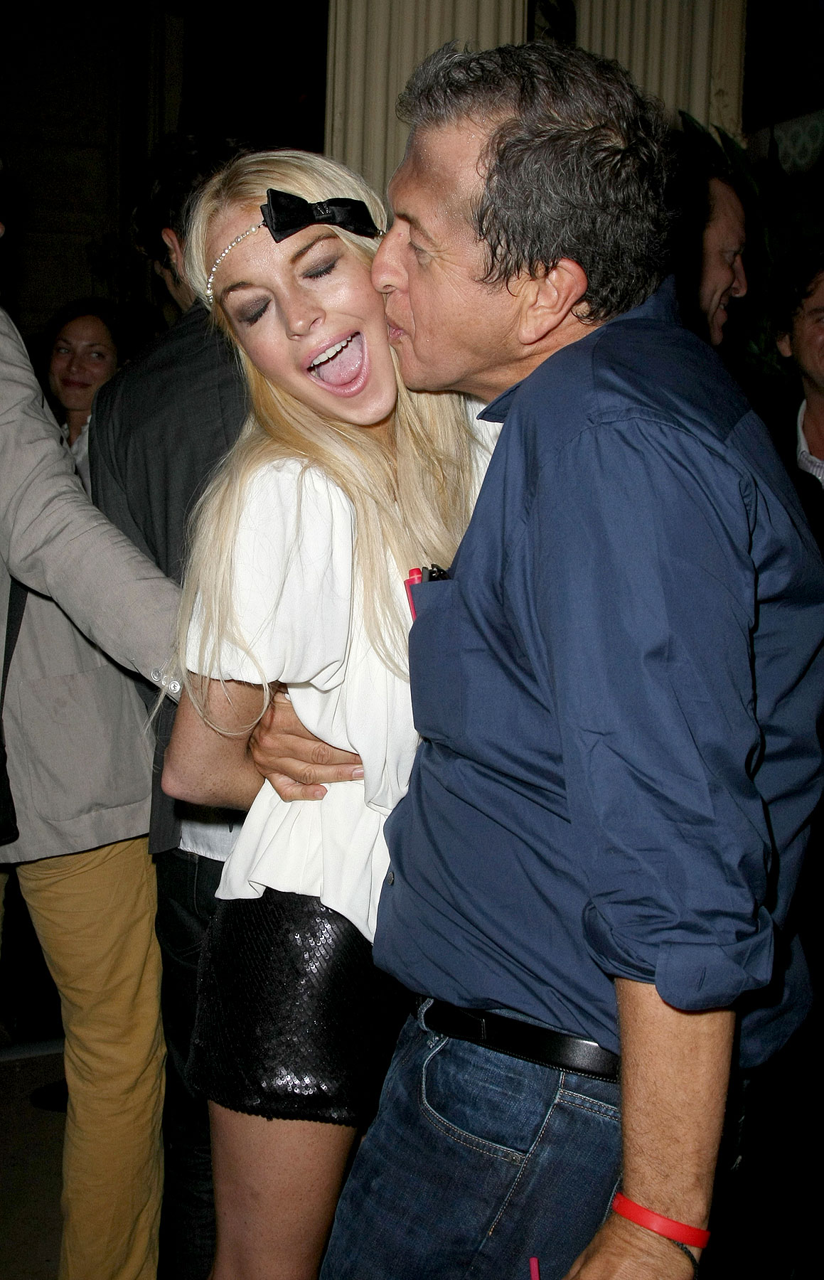 PHOTO GALLERY: Lindsay Lohan Parties in Paris