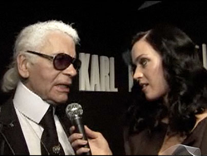 VIDEO: Katy Perry Interviews Karl Lagerfeld