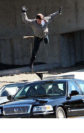 PHOTO GALLERY: Tom Cruise Does His Own Scary Stunts