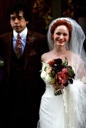 Mad Men's Christina Hendricks Gets Married