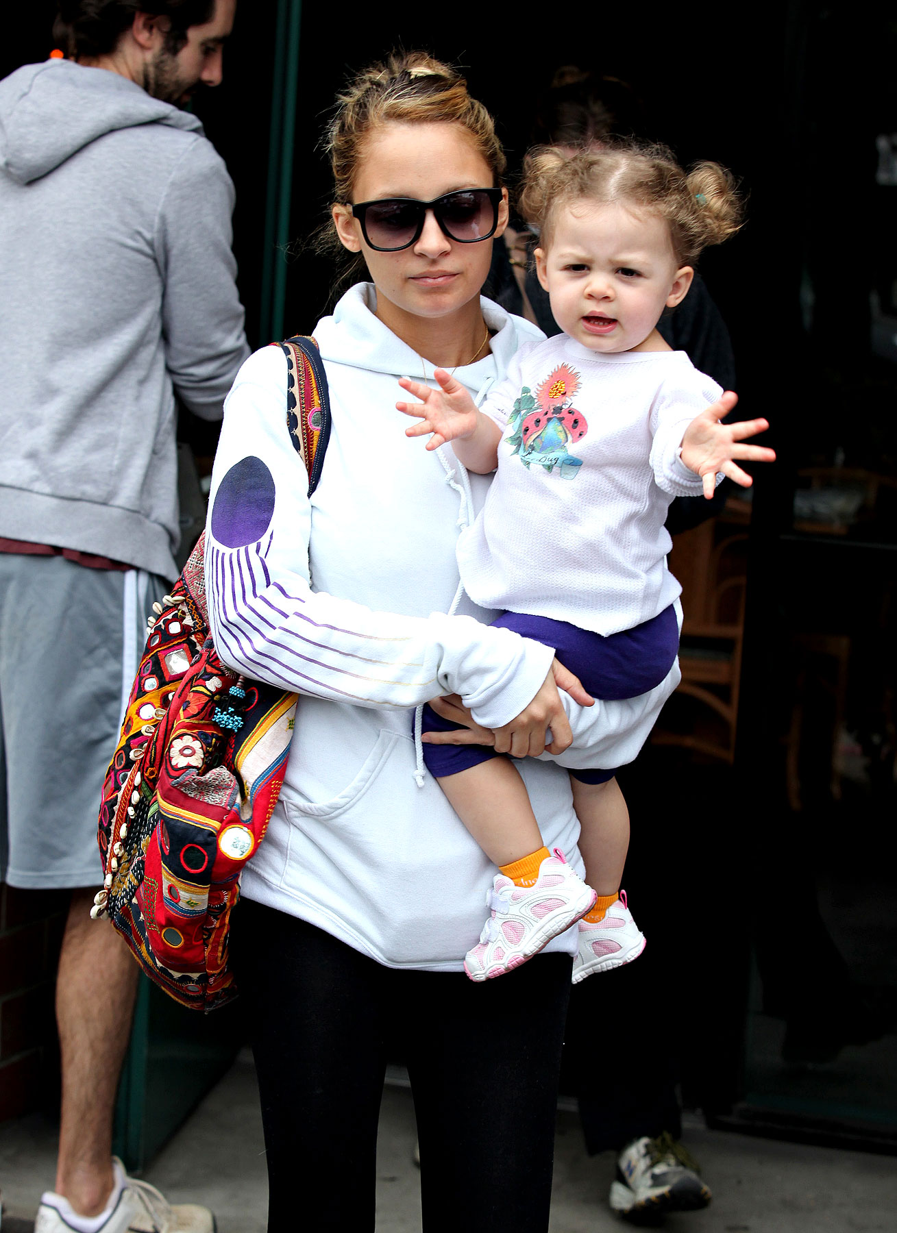 PHOTO GALLERY: Nicole Richie's Pigtailed Princess