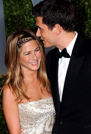 Jennifer Aniston Back With John Mayer?