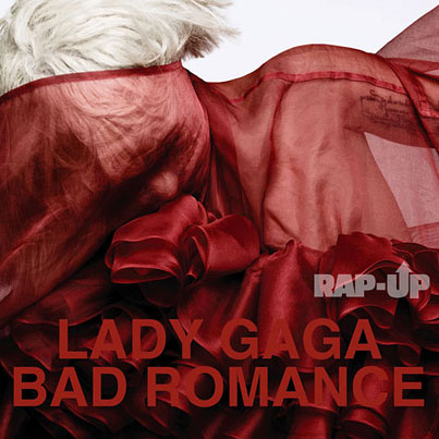 "Lady GaGa: ""Bad Romance"" Single Cover"