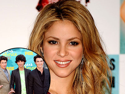 The Jonas Brothers Want to Do it With Shakira