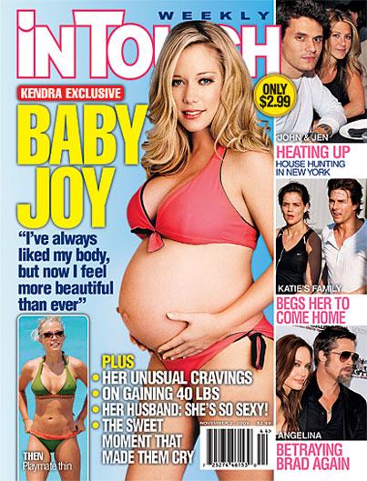 Kendra Wilkinson's Bikini Baby Bump