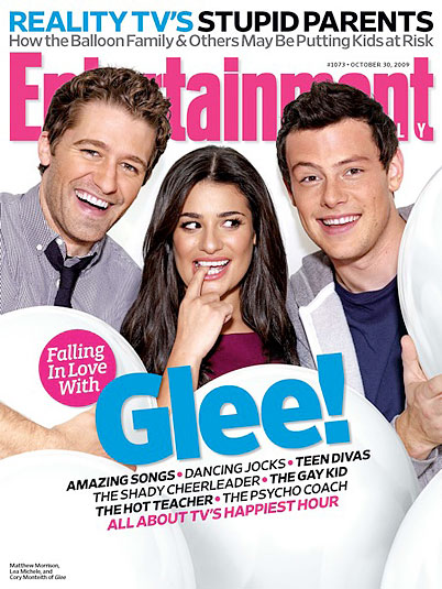 'Glee' Covers Entertainment Weekly, Lands Madonna Deal