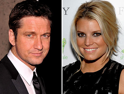 Hookup Alert: Jessica Simpson and Gerard Butler?!-photo