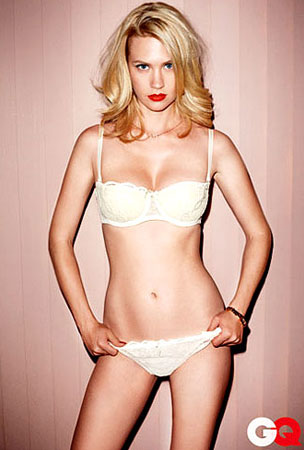 PHOTO GALLERY: January Jones GQ Outtakes