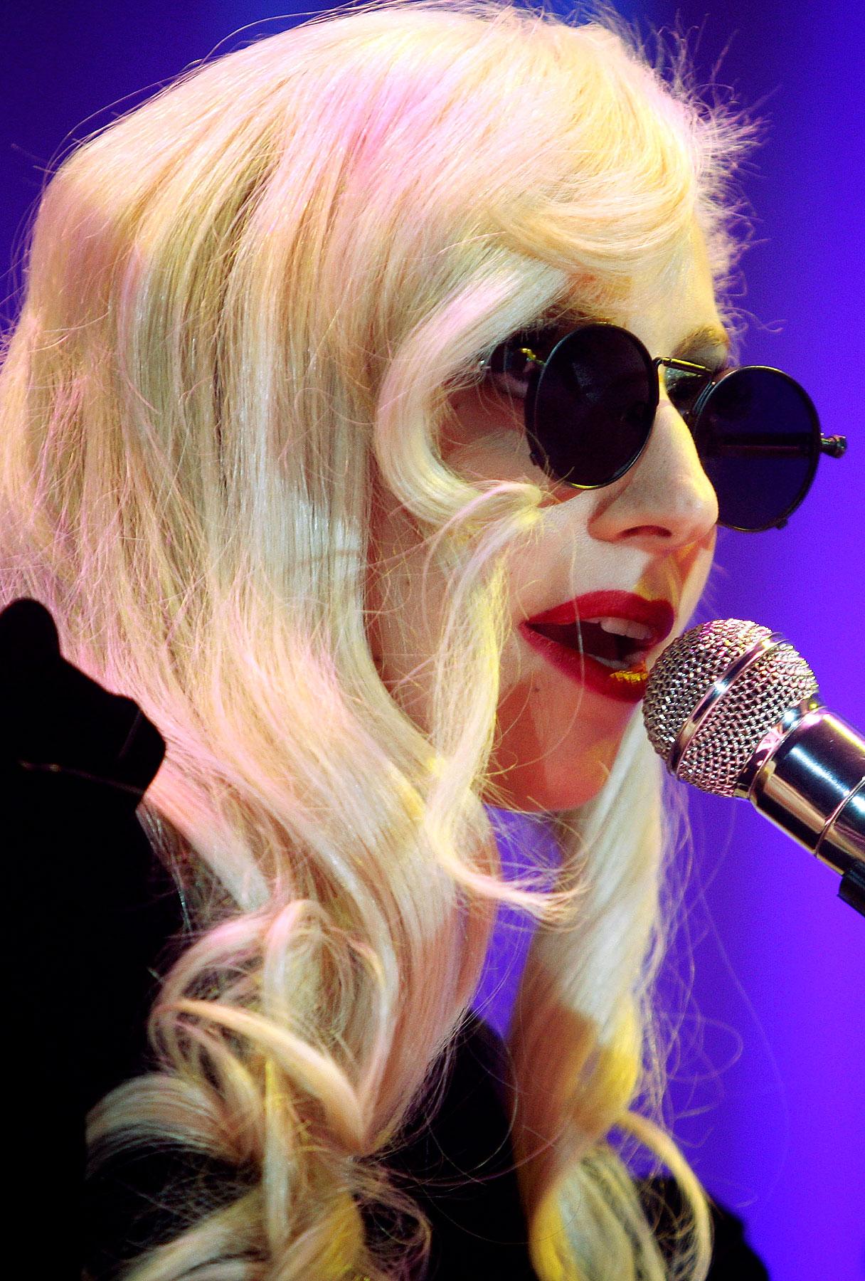 Lady GaGa Spills Tour Secrets
