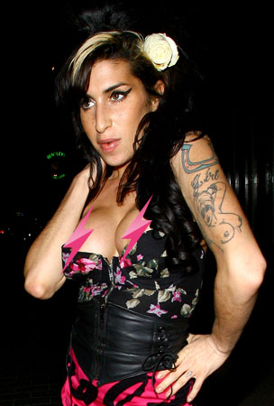 PHOTO GALLERY: Amy Winehouse Lets It All Hang Out