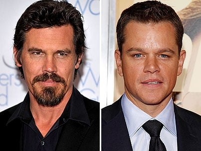 Matt Damon and Josh Brolin Prepare to Get 'Grit'-ty