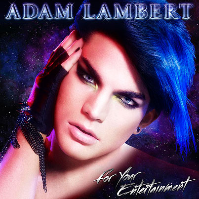 Behold: Adam Lambert's CD Cover