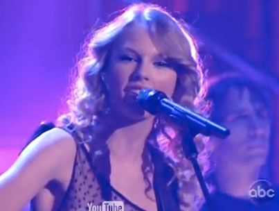 VIDEO: Taylor Swift On Dancing With The Stars