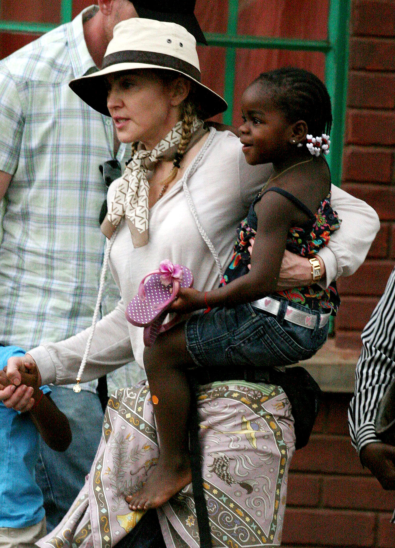 PHOTO GALLERY: Madonna Goes to Malawi