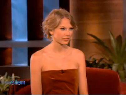 VIDEO: Taylor Swift On 'Ellen'