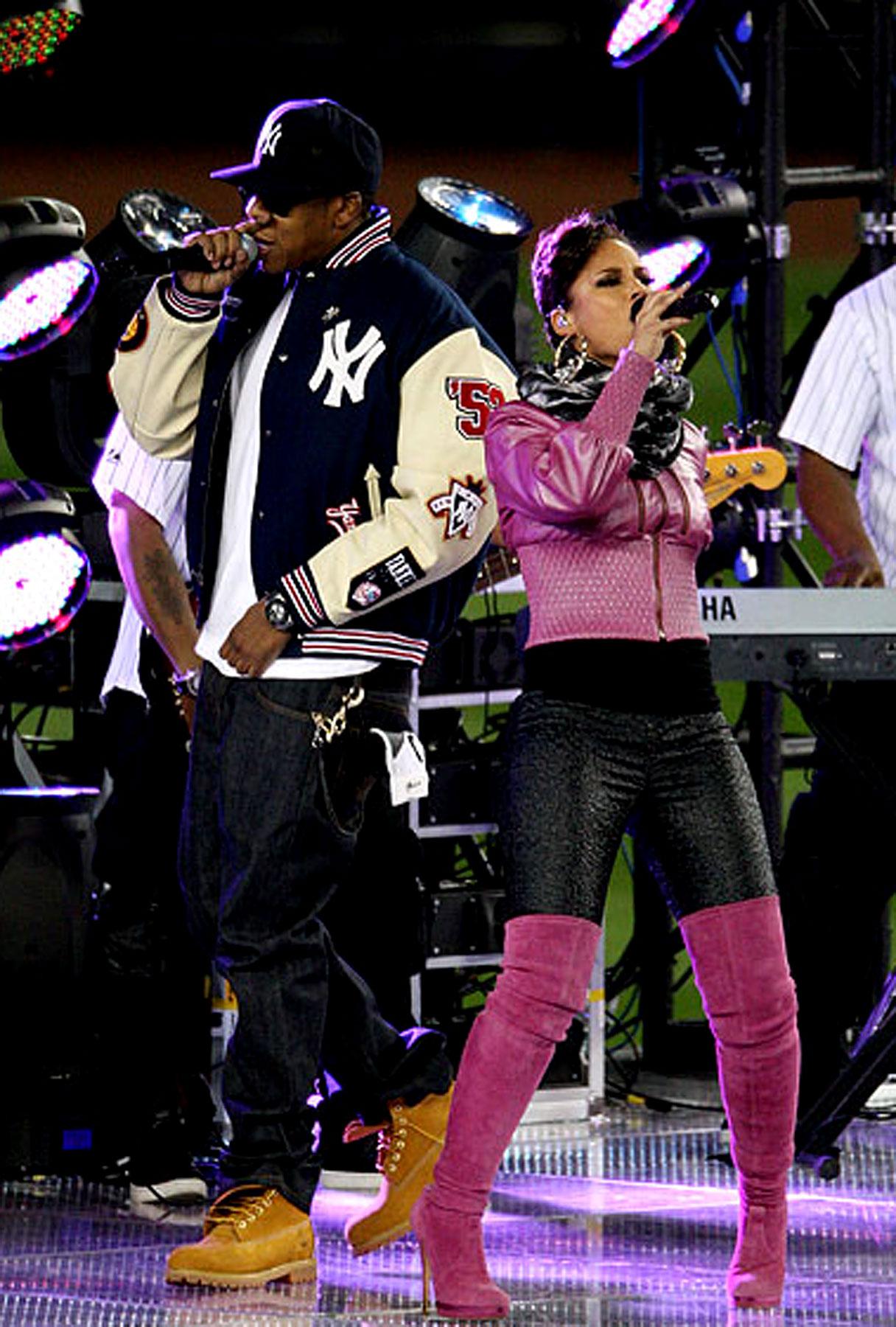 VIDEO: Jay-Z and Alicia Keys Do the World Series
