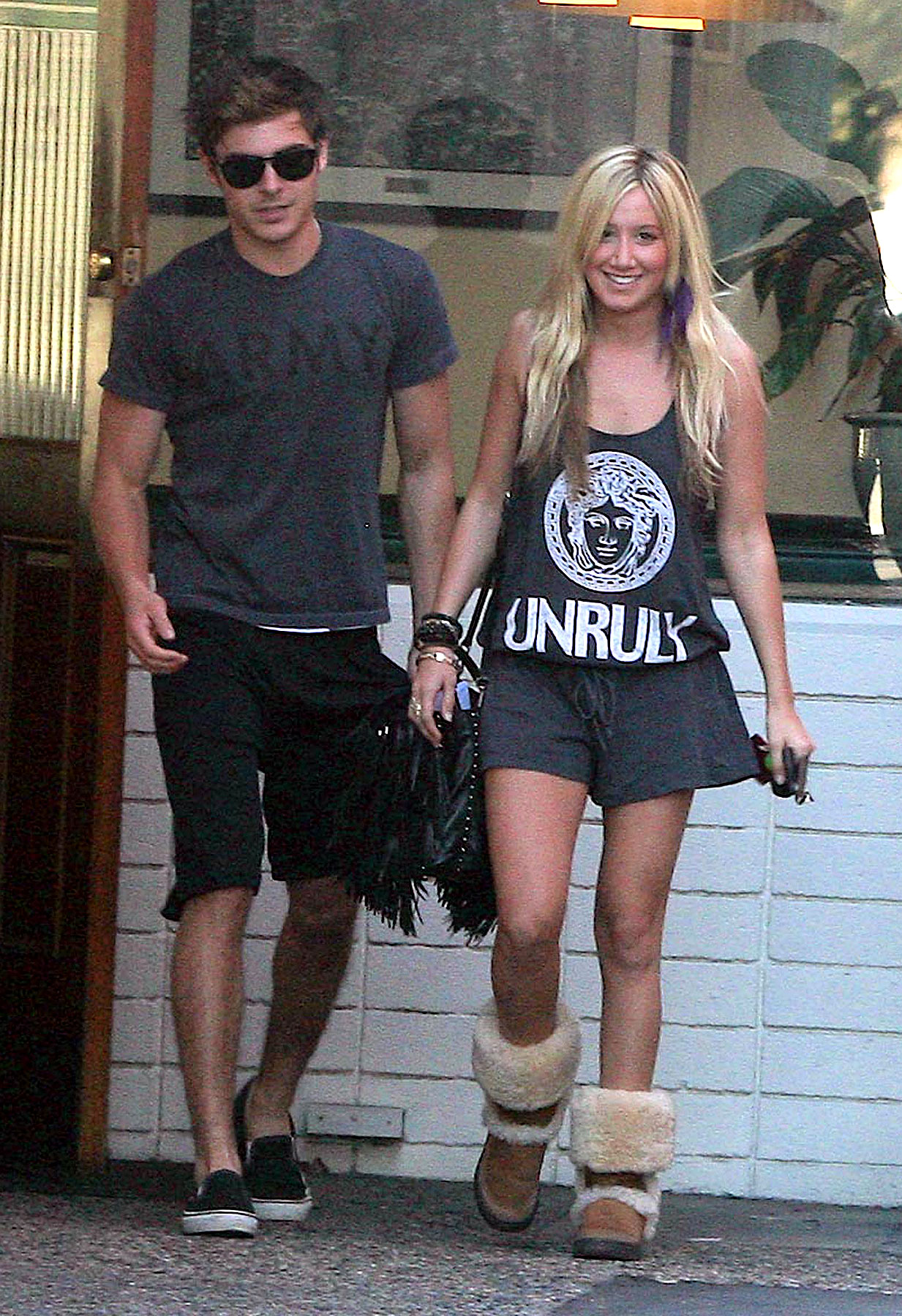 PHOTO GALLERY: Zac Efron & Ashley Tisdale's Gym Date