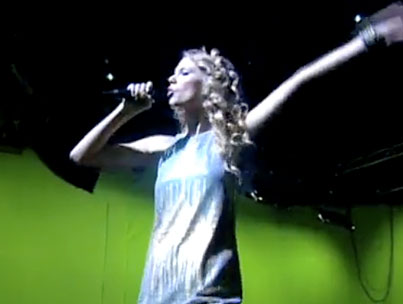 VIDEO: Taylor Swift Engages in Some Risky Business