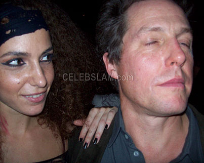 Hugh Grant Had A Good Halloween