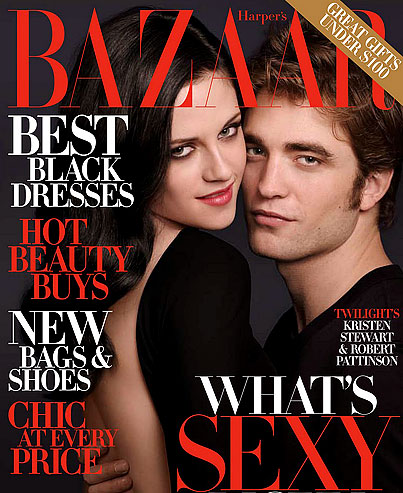 Robsten Covers Harper's Bazaar