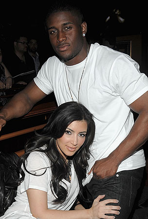 Kim Kardashian and Reggie Bush: Moving In Together?