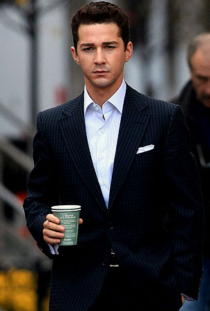 PHOTO GALLERY: Shia LaBeouf is Hot on Set