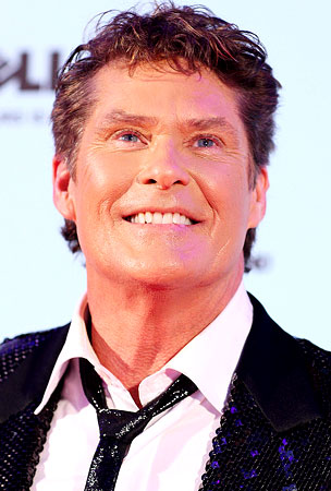VIDEO: David Hasselhoff, Loud and Plowed at the EMAs?