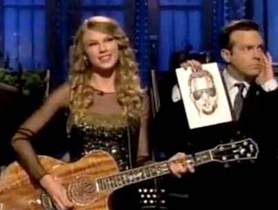 VIDEO: Taylor Swift Mocks Joe Jonas and Kanye In Opening SNL Skit