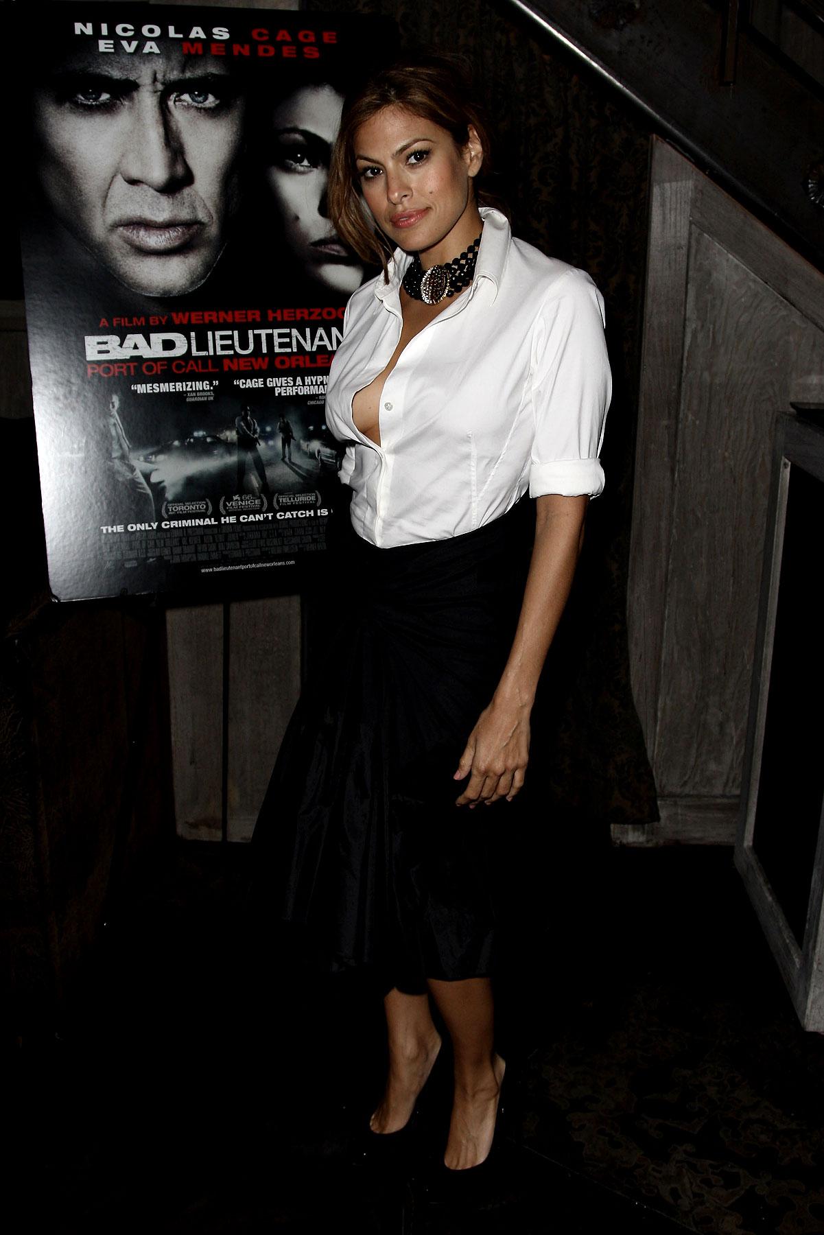 PHOTO GALLERY: Eva Mendes at 'Bad Lieutenant'