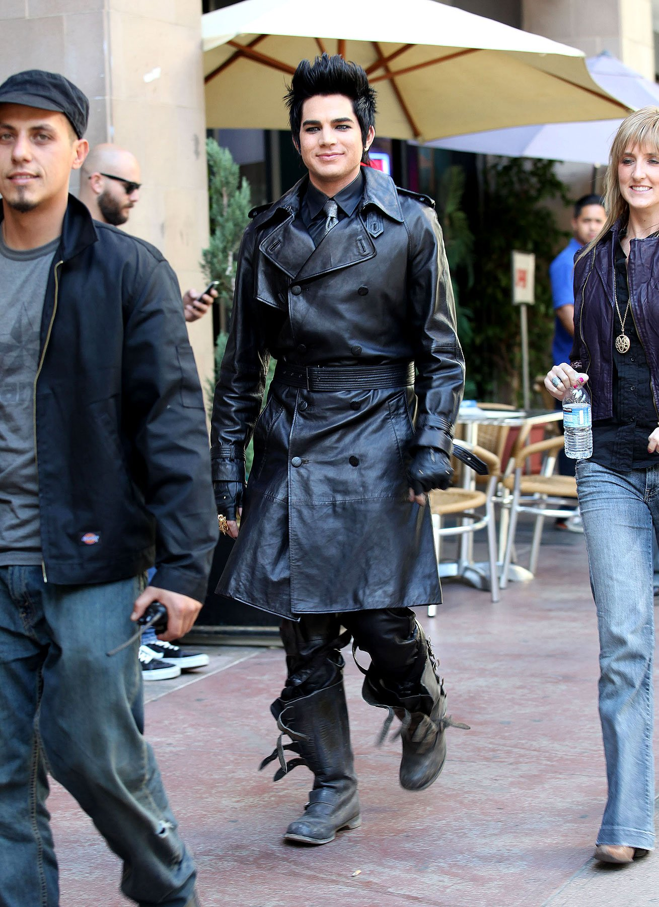 PHOTO GALLERY: Adam Lambert's Music Video Shoot
