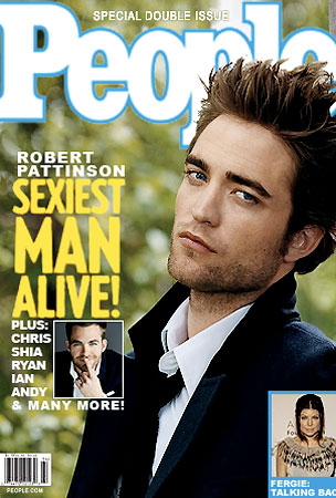 Robert Pattinson Is People's Sexiest Man Alive..Maybe