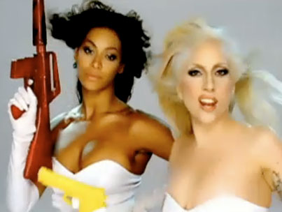 """VIDEO: Lady GaGa and Beyonce's """"Video Phone"""""""