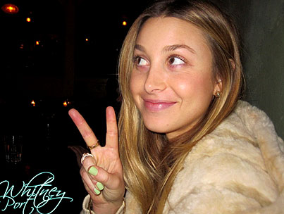 Whitney Port Gives Makeup Tips