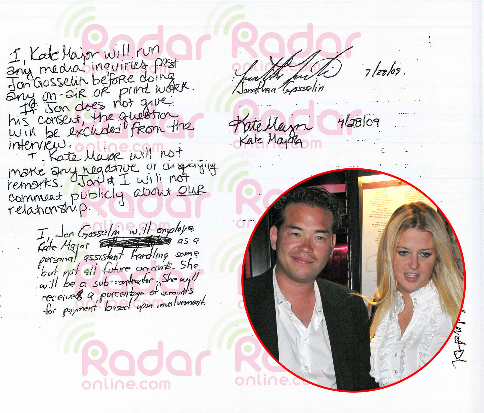Jon Gosselin Hired Kate Major as His Assistant