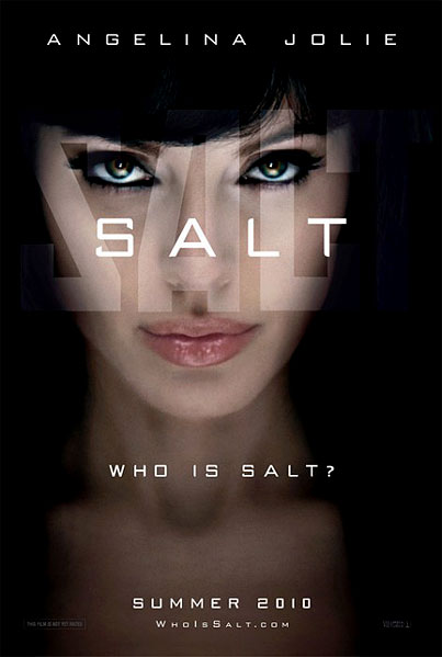 BUZZ LINKS: Angelina Jolie's Salt Poster