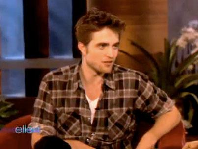 VIDEO: Rob Pattinson On 'Ellen'
