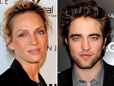 Robert Pattinson to Get Busy With Uma Thurman