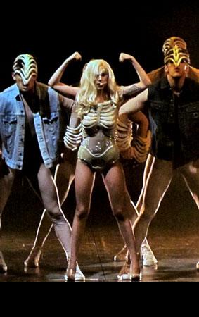 PHOTO GALLERY: Lady GaGa Debuts Superhero Alliance at Opening Concert