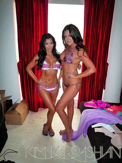 PHOTO GALLERY: Kim & Khloe Kardashian's Bikini Bodies