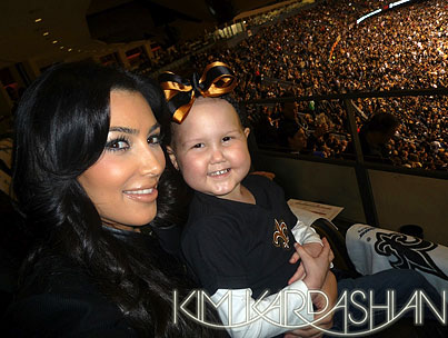Kim Kardashian Would Be An Adorable Mom. *Hint Hint*