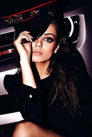 "PHOTO GALLERY: Mila Kunis Reveals ""Dark, Tortured Nymphomaniac Side"" to BlackBook Magazine"