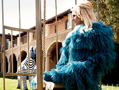 Britney Spears Ushers in the Era of Cookie Monster Chic for 'Elle'