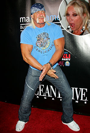 Hulk and Linda Hogan Now Literally Battling Over Toilet Seats