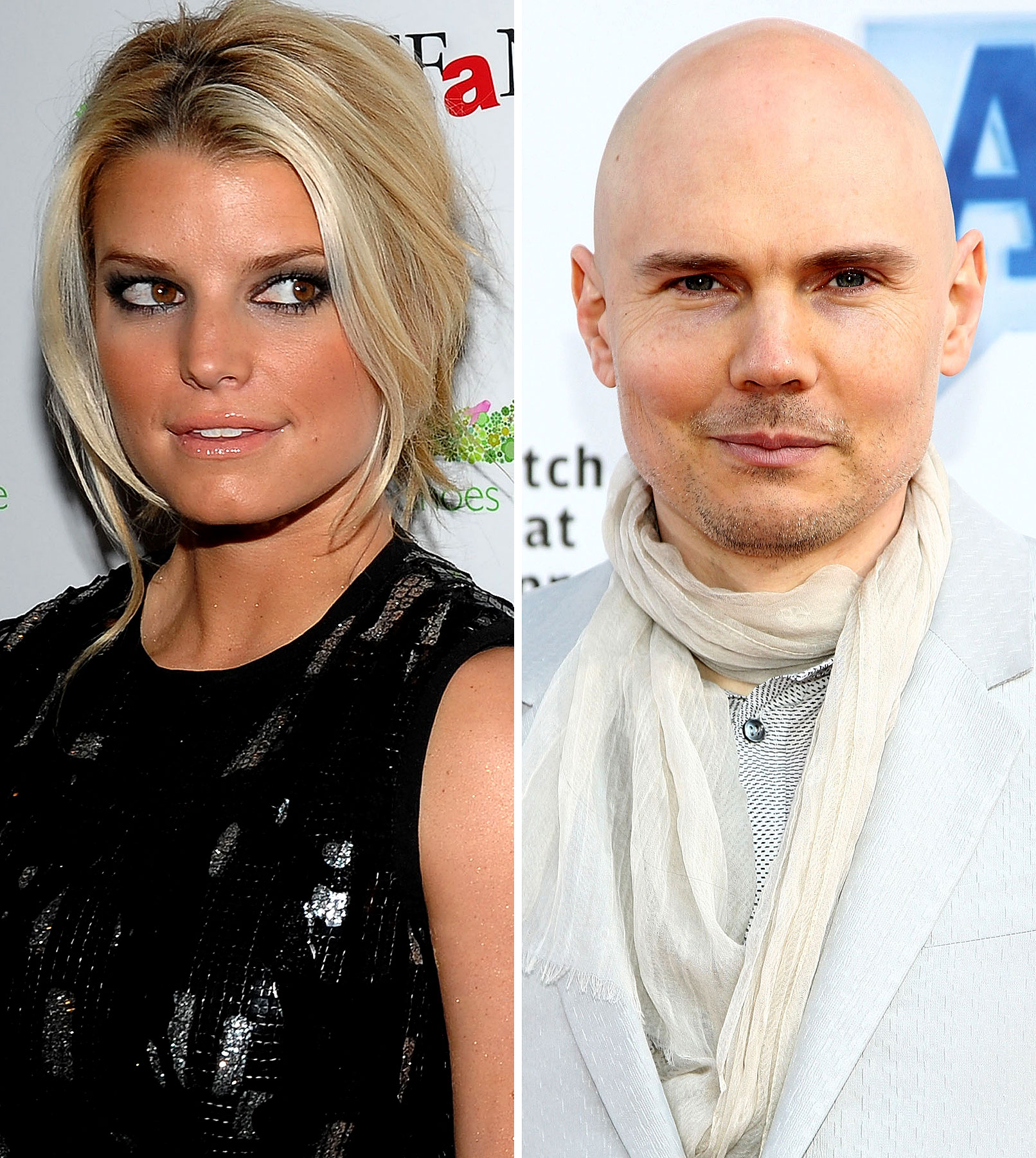Billy Corgan Continues His Romantic Commitment to Unstable Women With Jessica Simpson